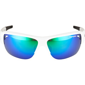 Tifosi Elder SL Glasses matte white - clarion green/ac red/clear